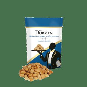 Dormens roasted and salted jumbo peanuts